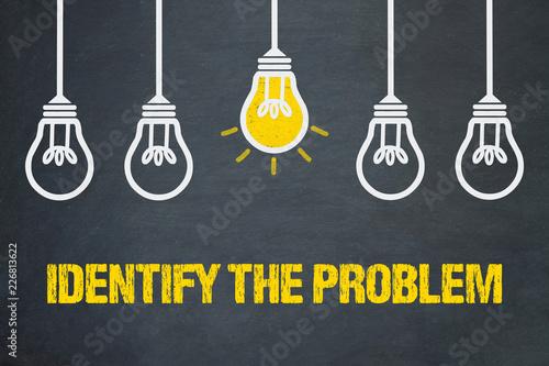 Identify the Problem Canvas Print