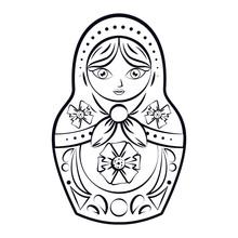 Russian Dolls Drawing
