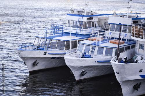 Foto op Plexiglas Mediterraans Europa The yachts on the water.