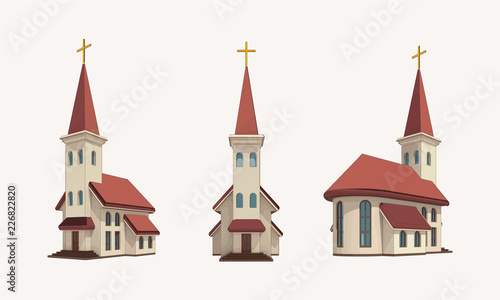 Papel de parede church pack daylight vector