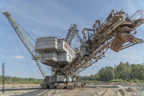 Aluminium Prints Mills Mining excavator