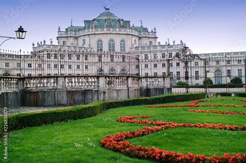 Turin, Piedmont, Italy the Hunting lodge of Stupinigi royal residence of Savoy Wallpaper Mural