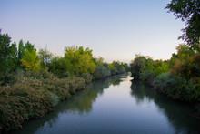 Jordan River In The Morning