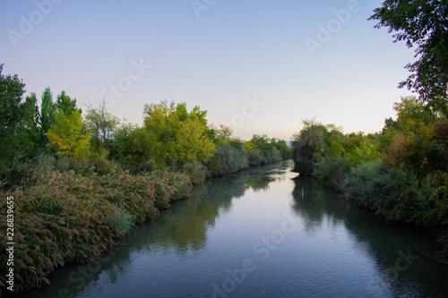 Fototapeta Jordan River in the Morning obraz