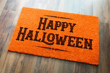 Happy Halloween Orange Welcome...