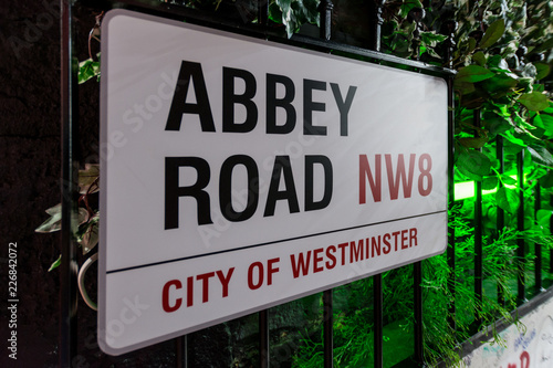 Photo  The Beatles Abbey Road Studios