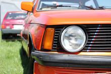 Exhibition Of A Retro Cars. Bi...
