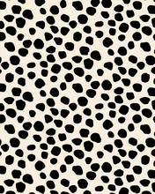Seamless Patterns With Black Dots