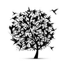 Hummingbird Tree, Sketch For Y...