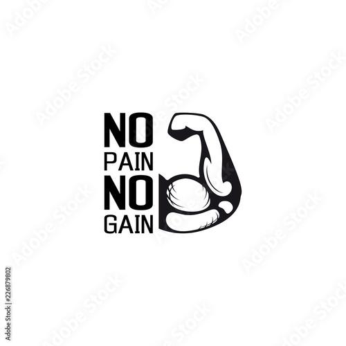 Fotografia No pain no gain