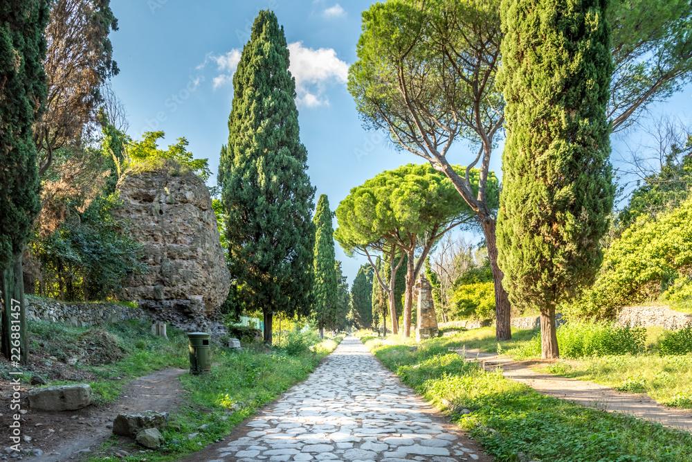 Fototapety, obrazy: The Appian way, Via Appia Antice