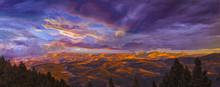 Sunset Over Evergreen, Colorado