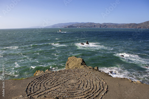 Fotografía  Lands End Labyrinth San Francisco