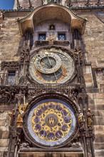 Orloj - Astronomical Clock In Prague, Czech Republic