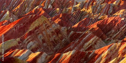 Fotografiet  Zhangye Danxia National Geopark - Gansu Province, China