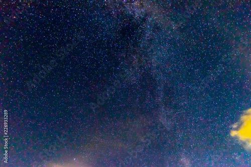 Foto op Aluminium Heelal 富士山五合目の星空