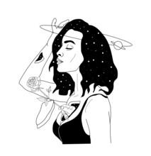 Vector Hand Drawn Surreal Illu...