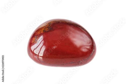 Red natural jasper stone