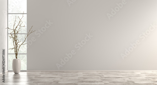 Interior background 3d render Slika na platnu