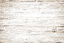 Vintage Wood Texture White Background.