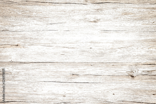 Foto auf Gartenposter Holz Vintage wood texture white background.
