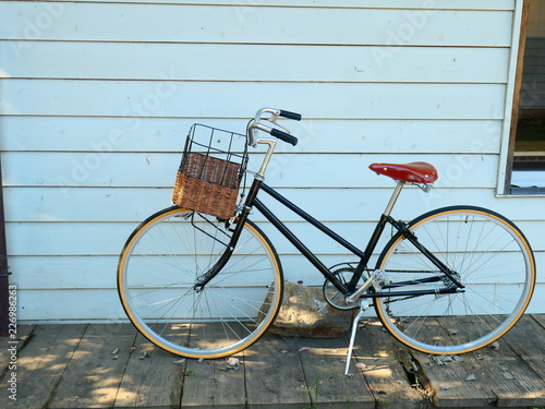 Fotobehang Fiets 自転車