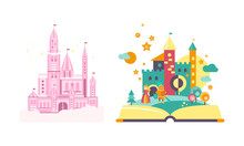 Fairytale Castles, Open Book W...