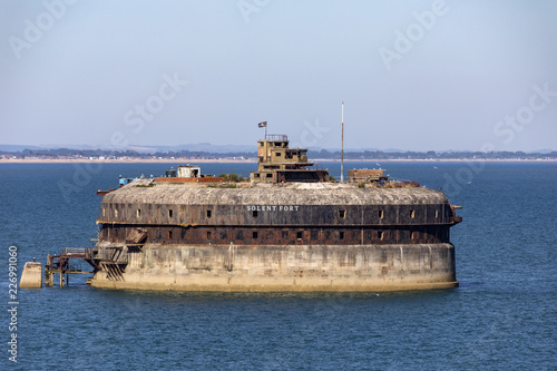 Recess Fitting Fortification Palmerston Forts in the Solent - England