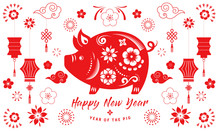 Happy Chinese New Year 2019, T...