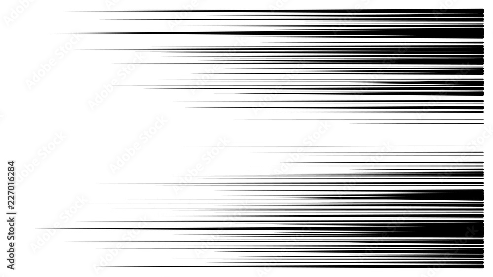 Fototapeta speed lines vector