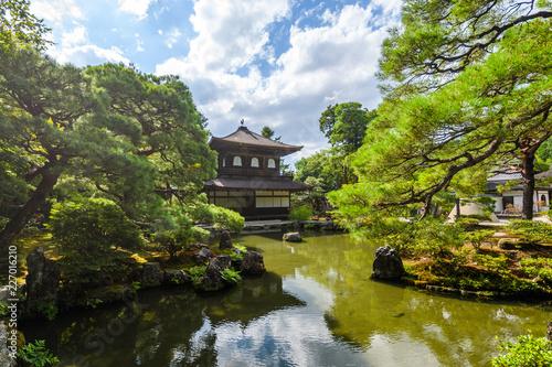 ginkakuji silver temple at kyoto higashiyama district, Japan Tableau sur Toile