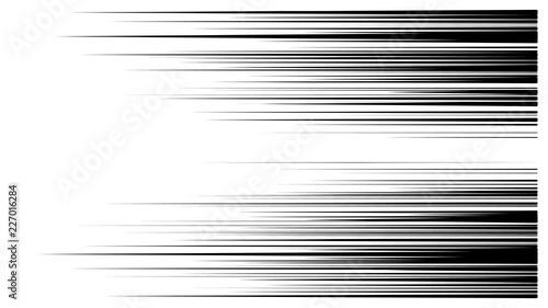 speed lines vector Canvas Print