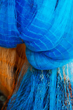 Colourful Fishing Nylon Net Fishing Tool In Thailand And Asian Country