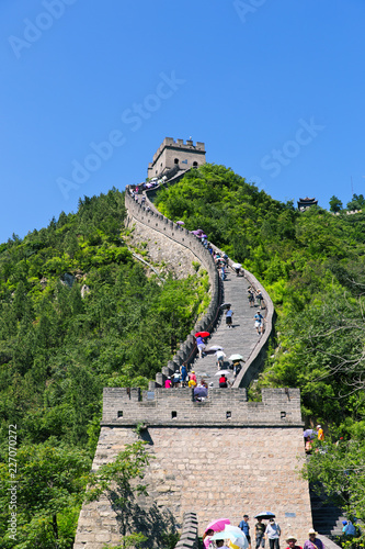 Fotobehang Chinese Muur The famous Great Wall of China