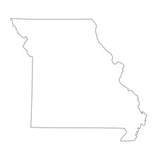 Missouri - Map State Of USA