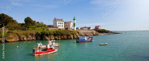 Zdjęcie XXL Port Doëlan w Bretanii> Southern Finistère