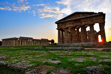 The Temple Of Hera And Neptune...