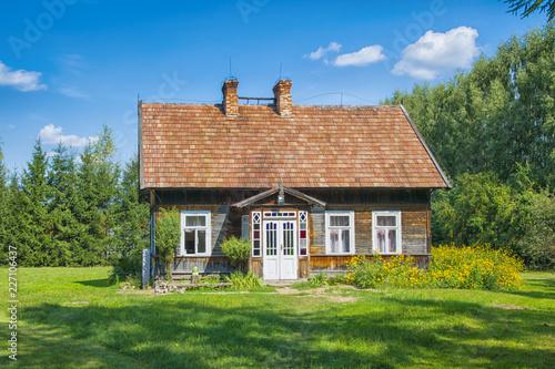 Obraz na płótnie Old village house. Podlasie, Poland.