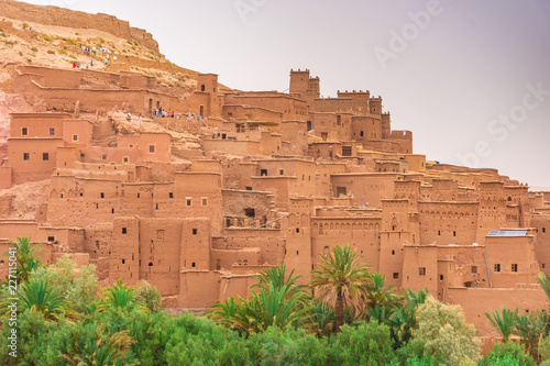 The fortified town of Ait Benhaddou, Morocco