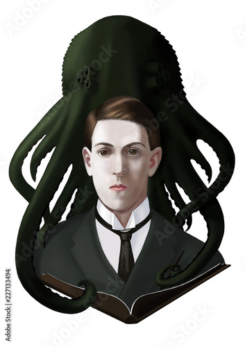 Photo Howard Phillips Lovecraft