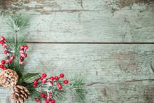 Christmas Decoration Of Mistle...