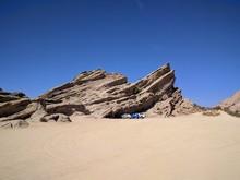Vasquez Rocks - Boulders