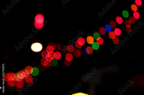 abstract image blur and bokeh led Image blur available when view at