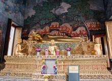 Wat Bowonniwet Wihan (Pavaranivesh Vihara Rajavaravihara), Phra Nakhon District, Bangkok, Thailand.