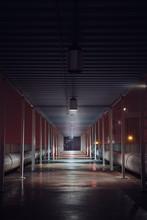 Industrial Walkway In Atlanta Georgia