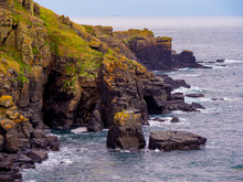 National Trust - Lizard Point In The South Of Cornwall England