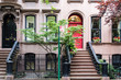 Classic old apartment building in Greenwich Village