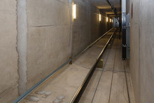 Lift Shaft, During The Constru...