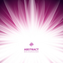 Abstract Pink Radial Lines Bac...