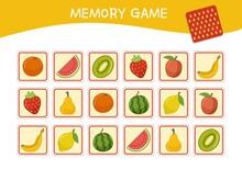 Memory Game For Preschool Chil...
